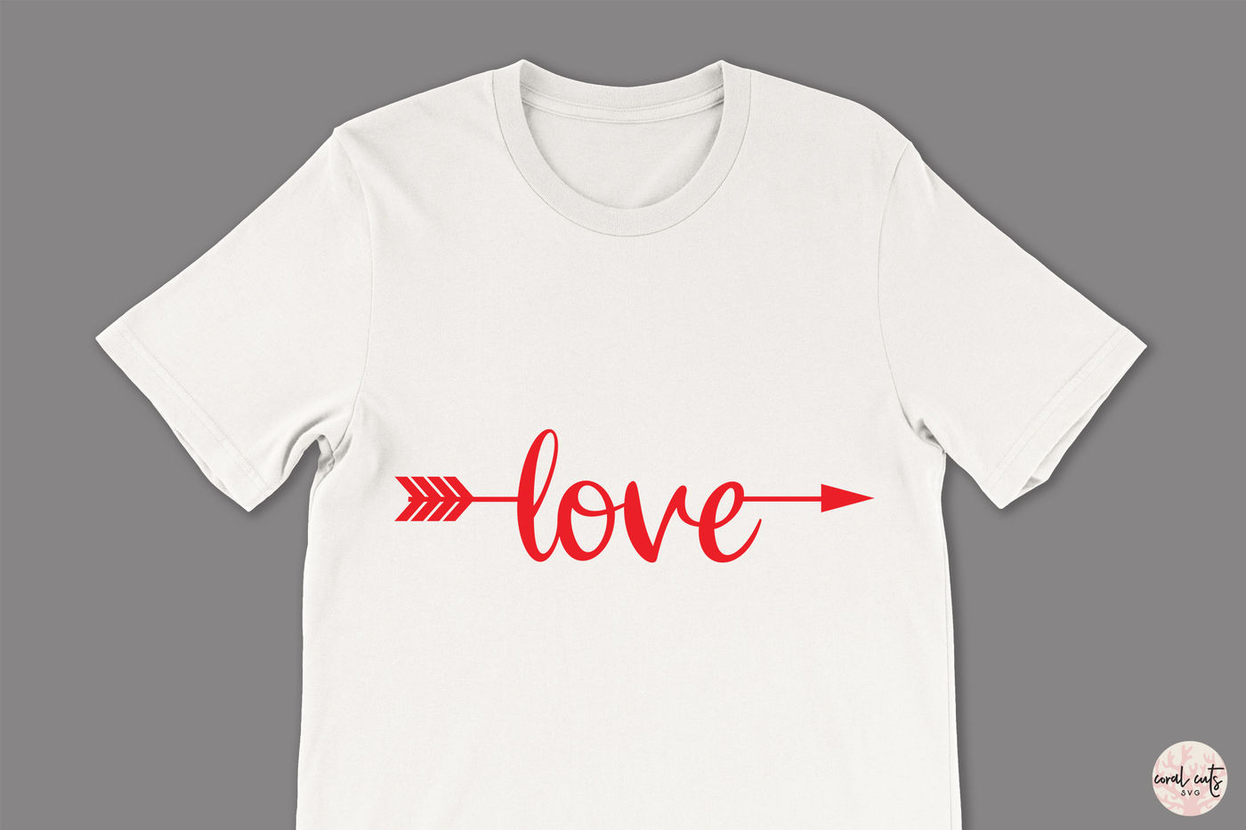 Love Arrow Love Svg Eps Dxf Png By Coralcuts Thehungryjpeg Com