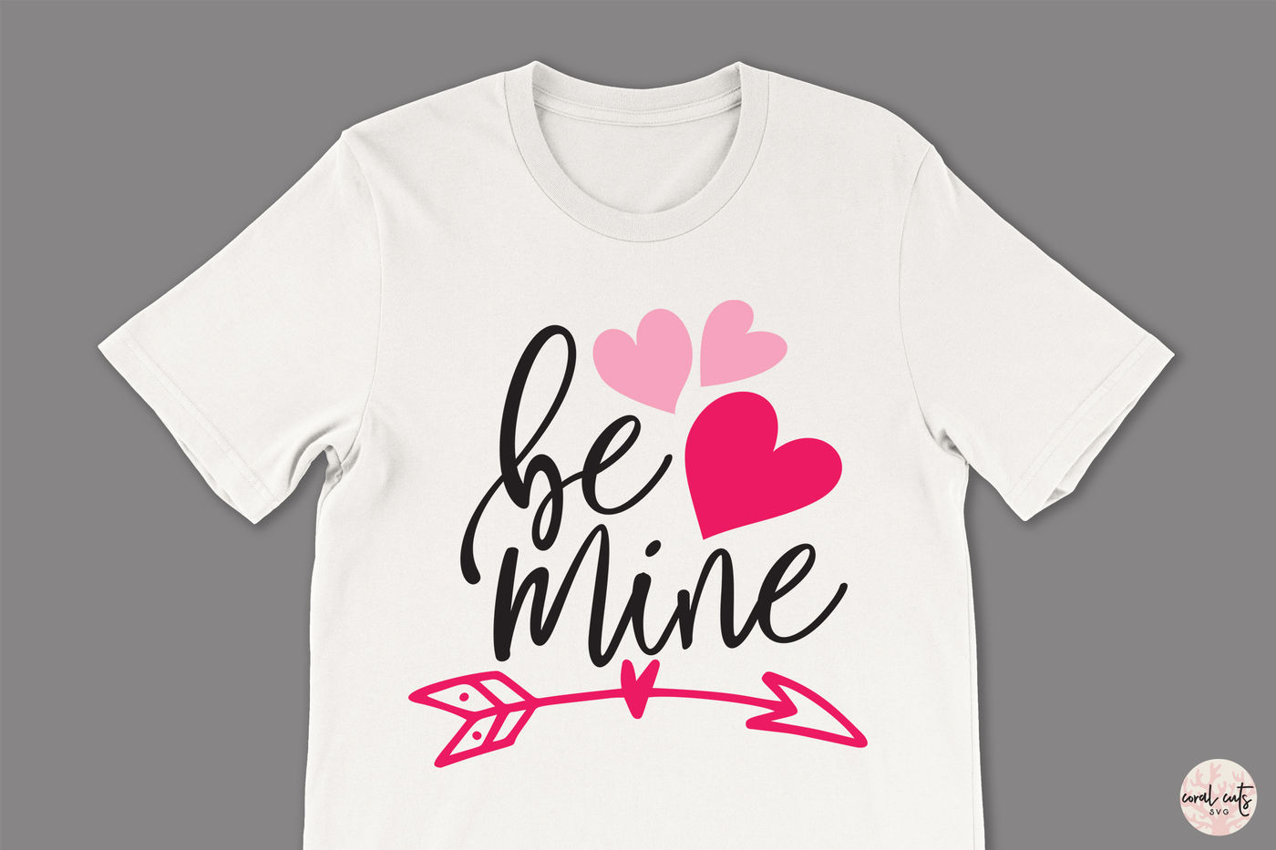 Be Mine Love Svg Eps Dxf Png By Coralcuts Thehungryjpeg Com