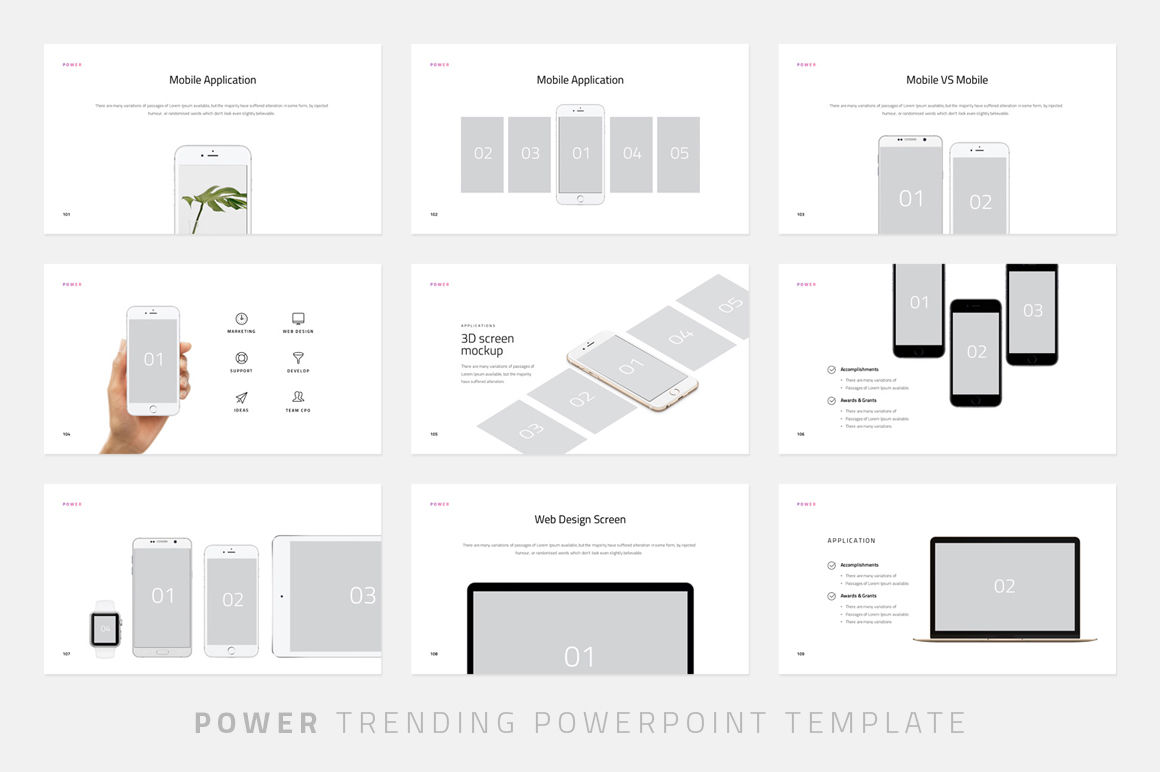 Power-Powerpoint Template By Dublin_Design | TheHungryJPEG com