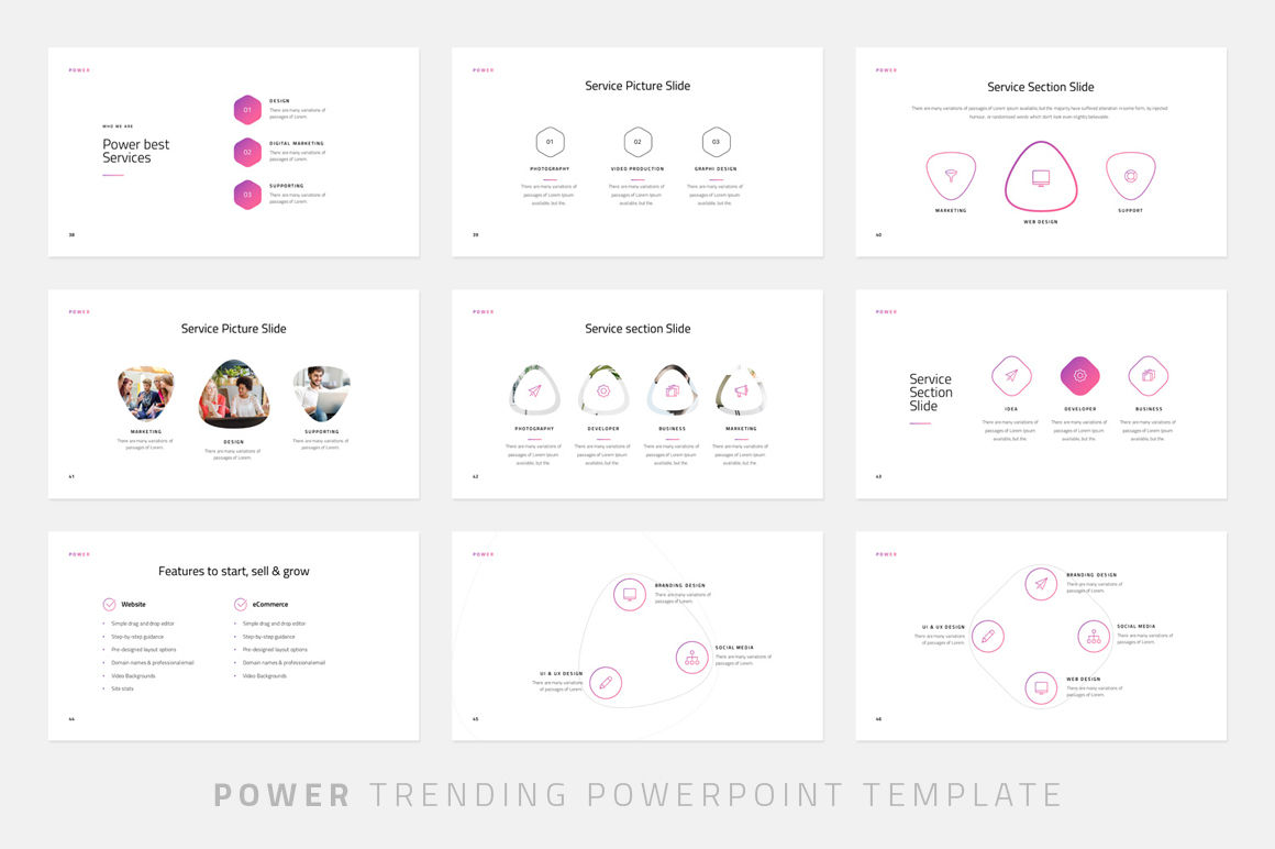Power-Powerpoint Template By Dublin_Design | TheHungryJPEG com