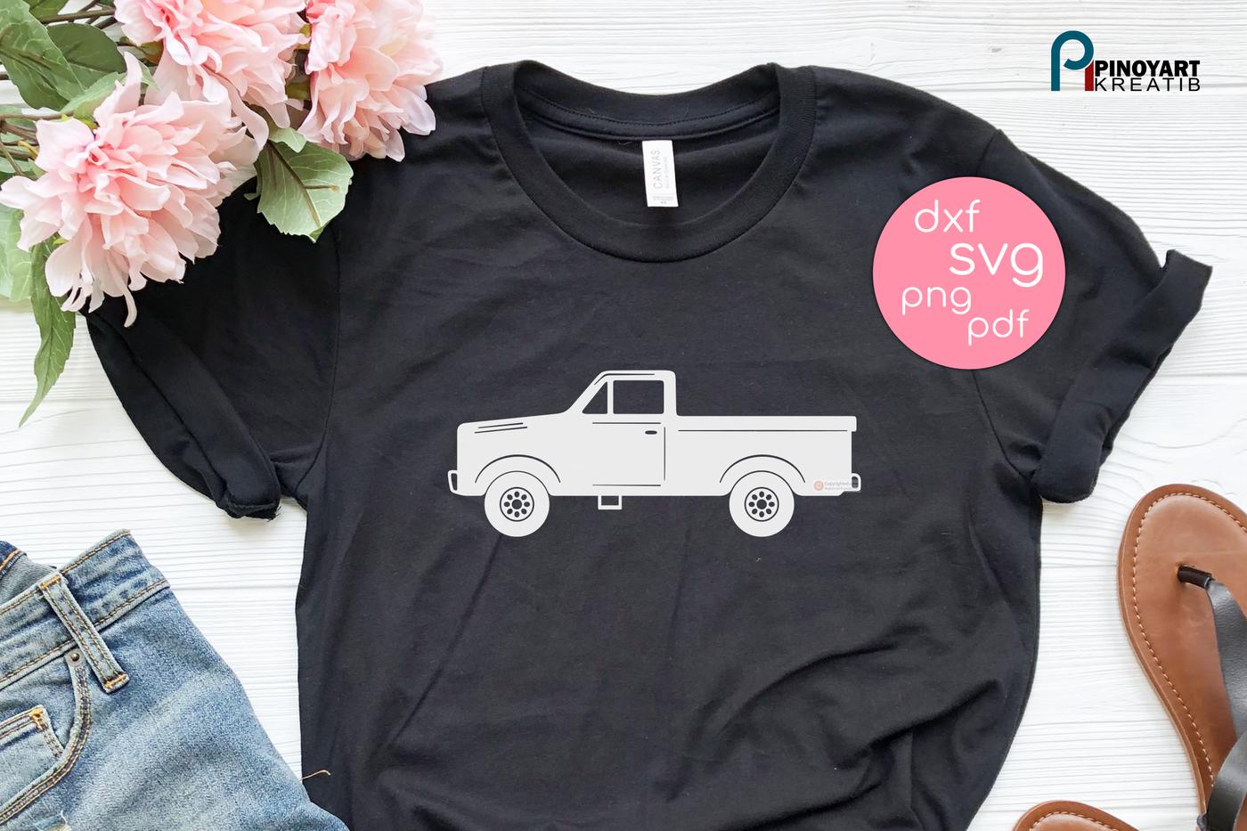 Pickup Truck Svg Truck Svg Vintage Truck Svg Old Truck Svg Svg