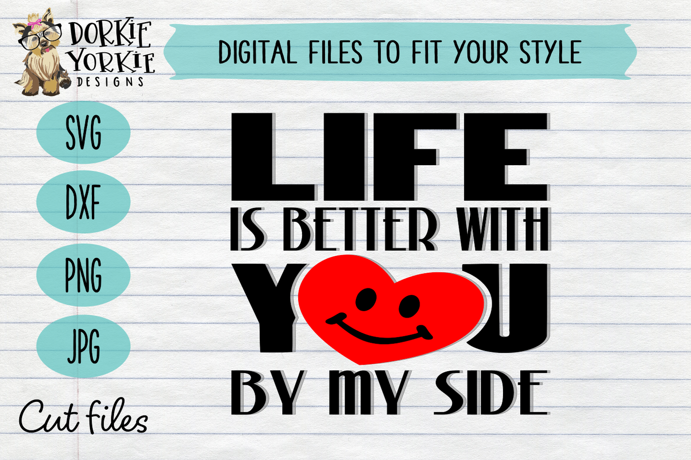 Life Is Better With You Bundle Valentine S Day Love Heart