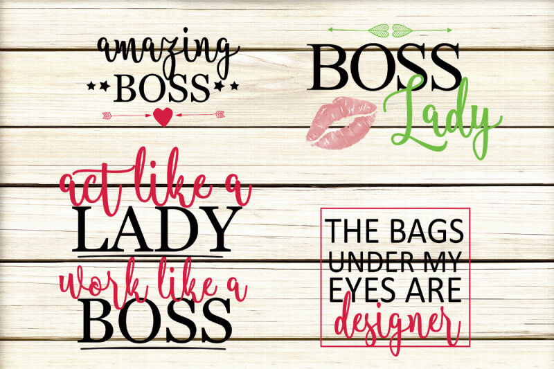 Mom Boss Quotes Svg By Yamini Thehungryjpeg Com