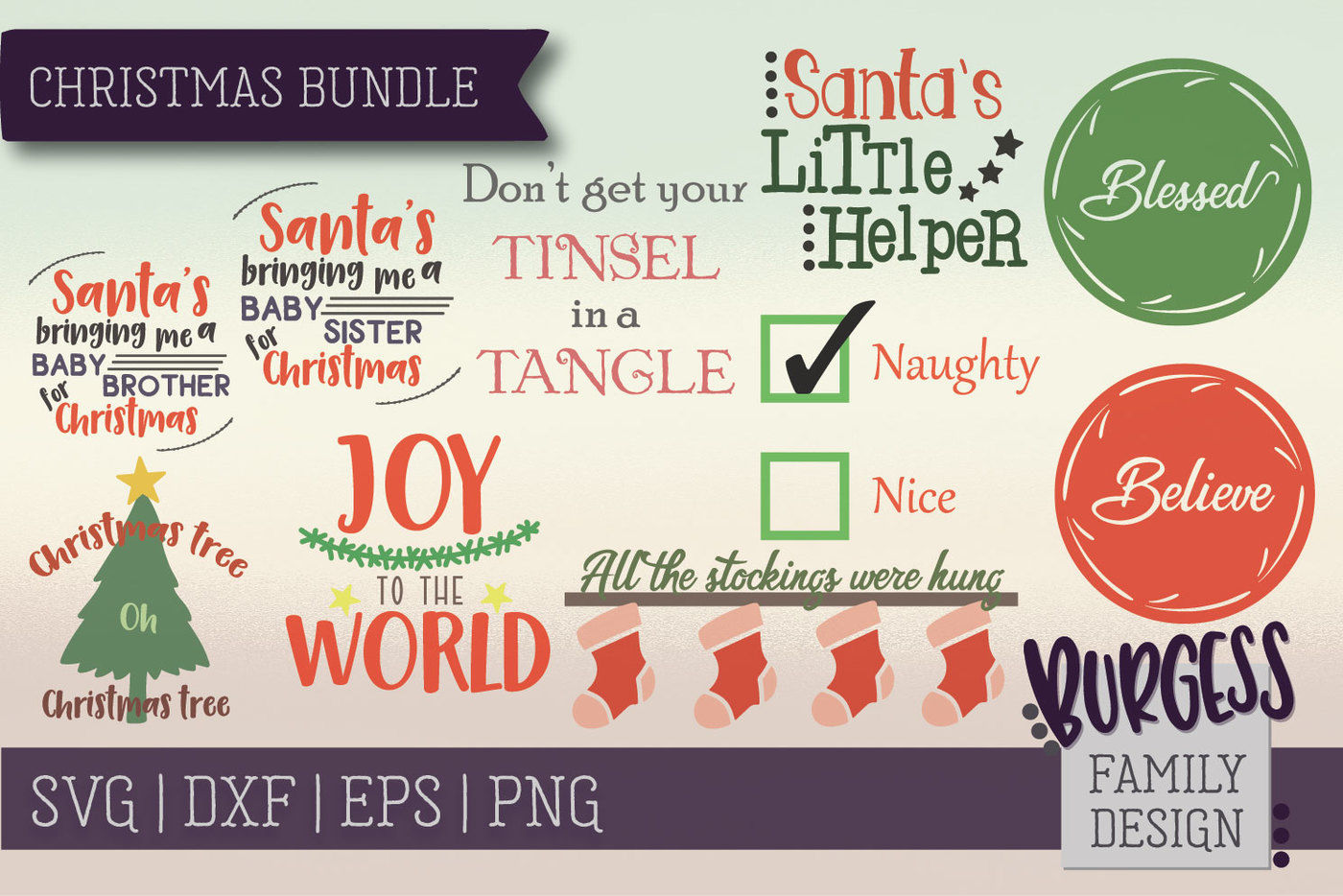 The Starter Bundle Over 200 Designs Svg Dxf Eps Png By Burgess