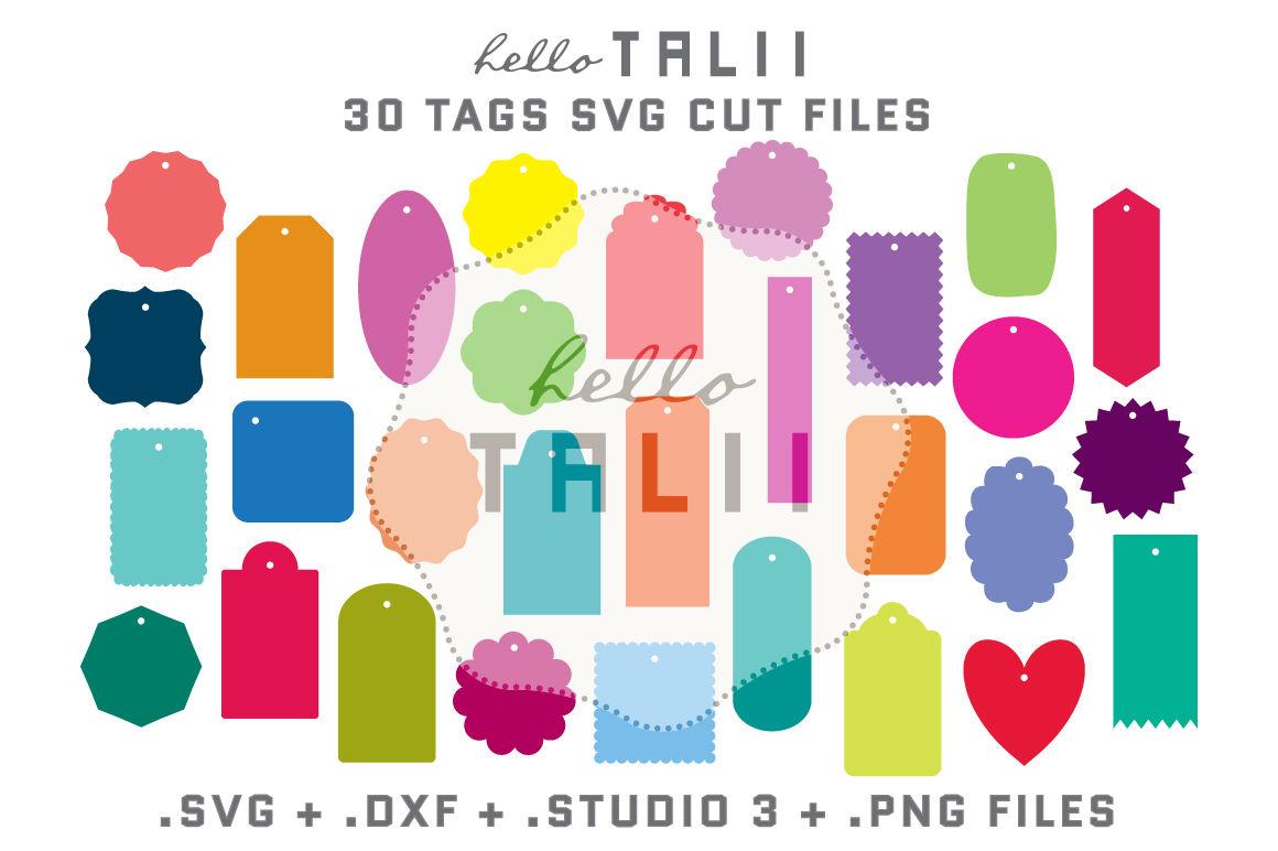 Tags Svg Cutting Files Bundle By Hello Talii Thehungryjpeg Com