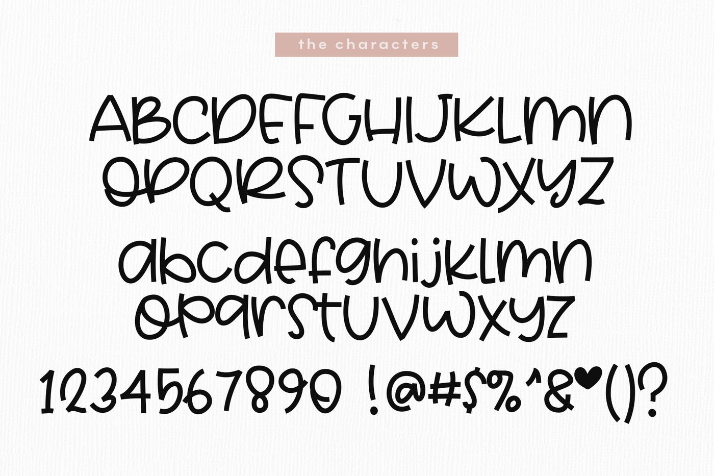 Cinnamon A Quirky Handwritten Font By Ka Designs Thehungryjpeg Com