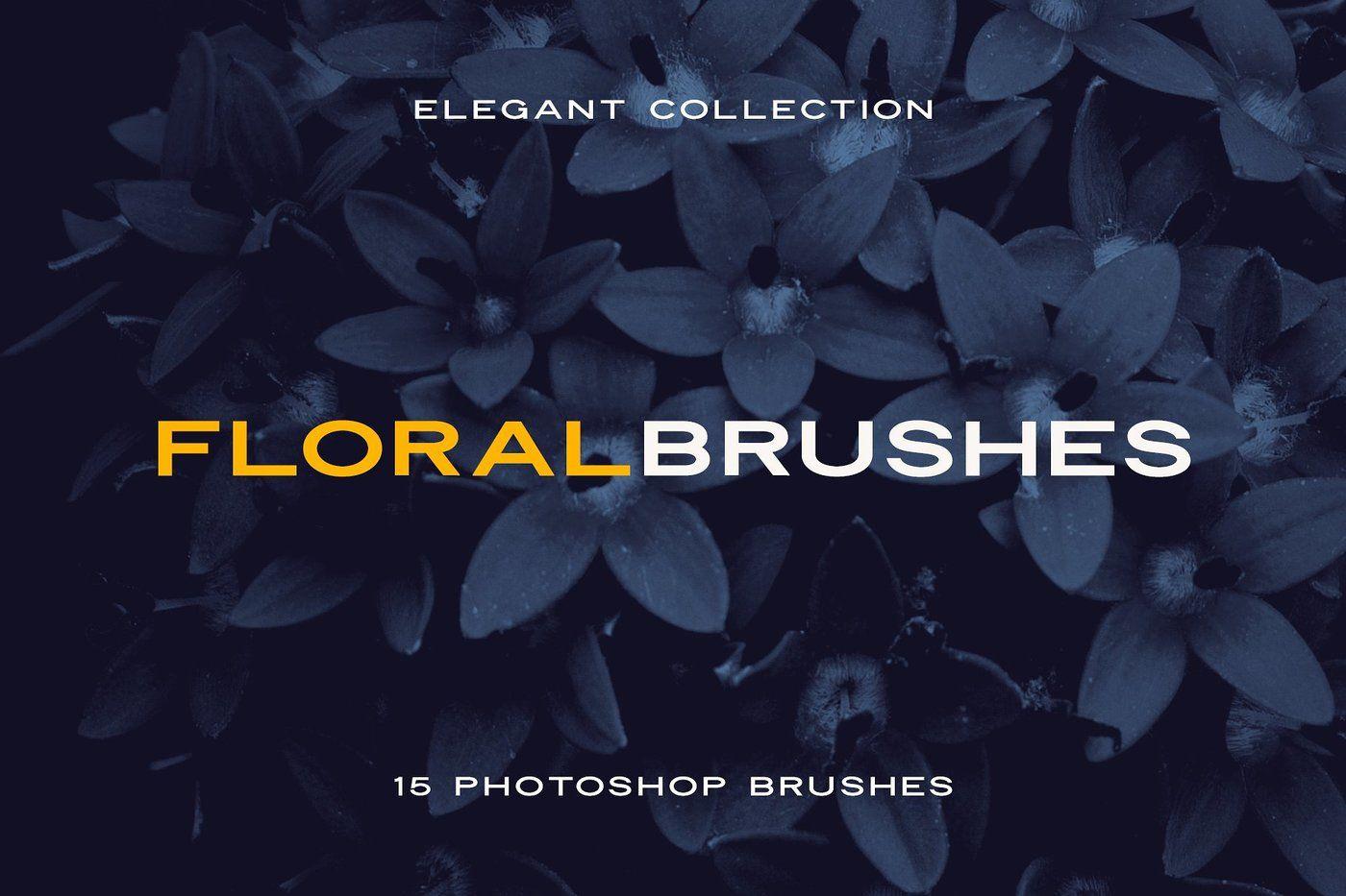 Elegant Floral Brushes for Photoshop By Milka