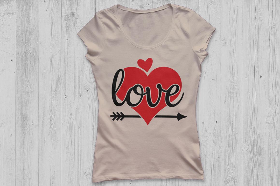Valentines Day Svg Love Svg Heart Svg Valentine Svg Love Arrow