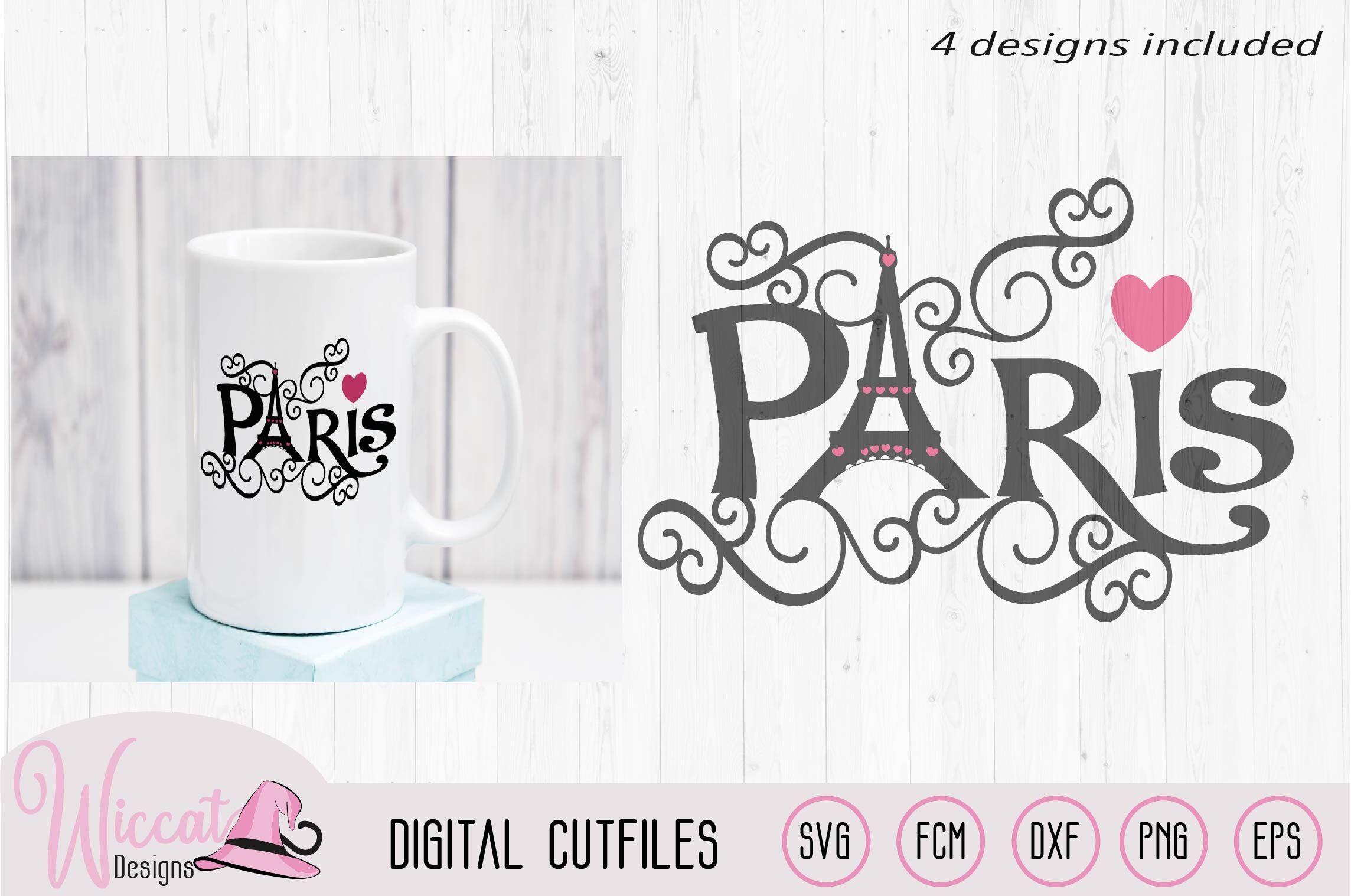 Paris Eiffel Tower Word Art Valentine Tumbler Des By