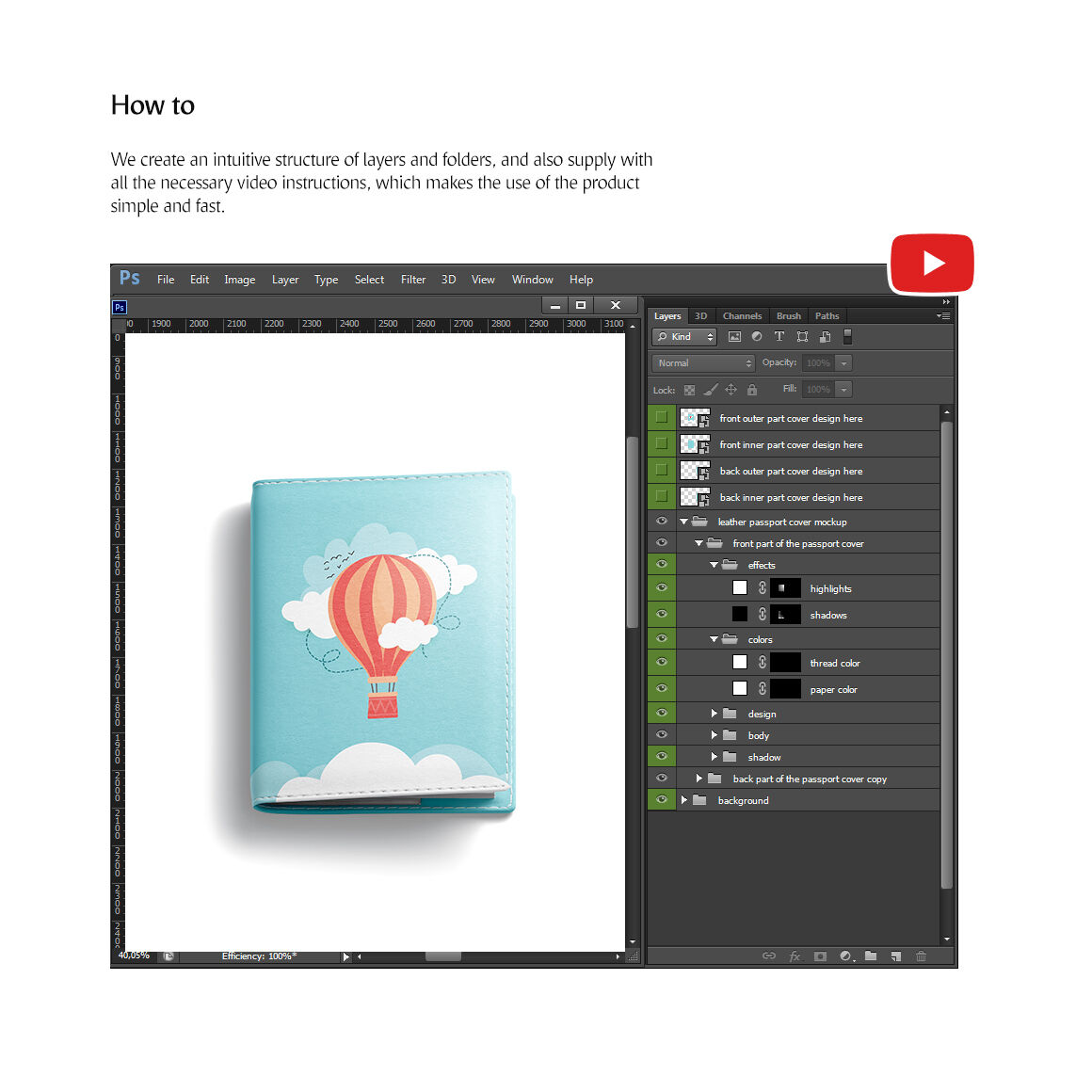Booklet Mockup Free Psd
