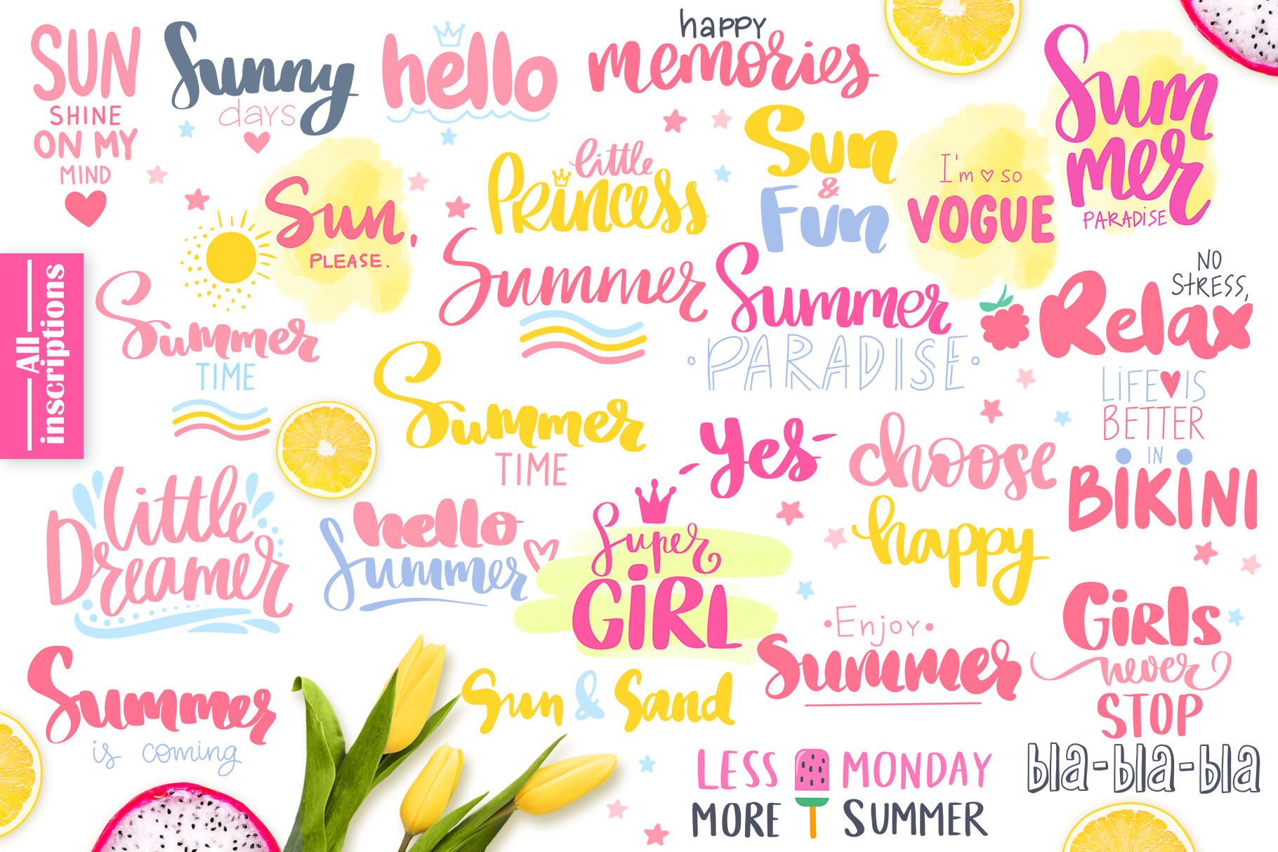Funny Summer Pigs Quotes By Kvitka Thehungryjpeg Com
