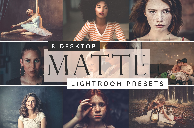 Matte Lightroom Desktop Presets By Paper Farms Thehungryjpeg Com