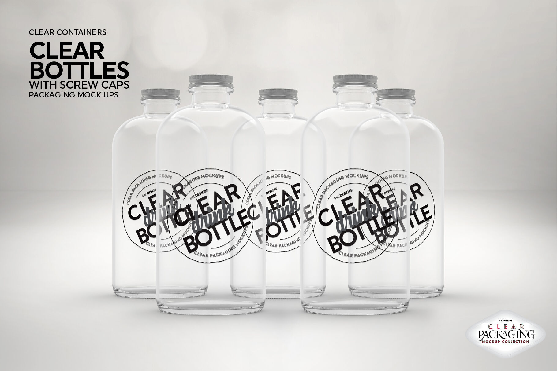 Download Clear Glass Yellow Drink Bottle Mockup Yellowimages