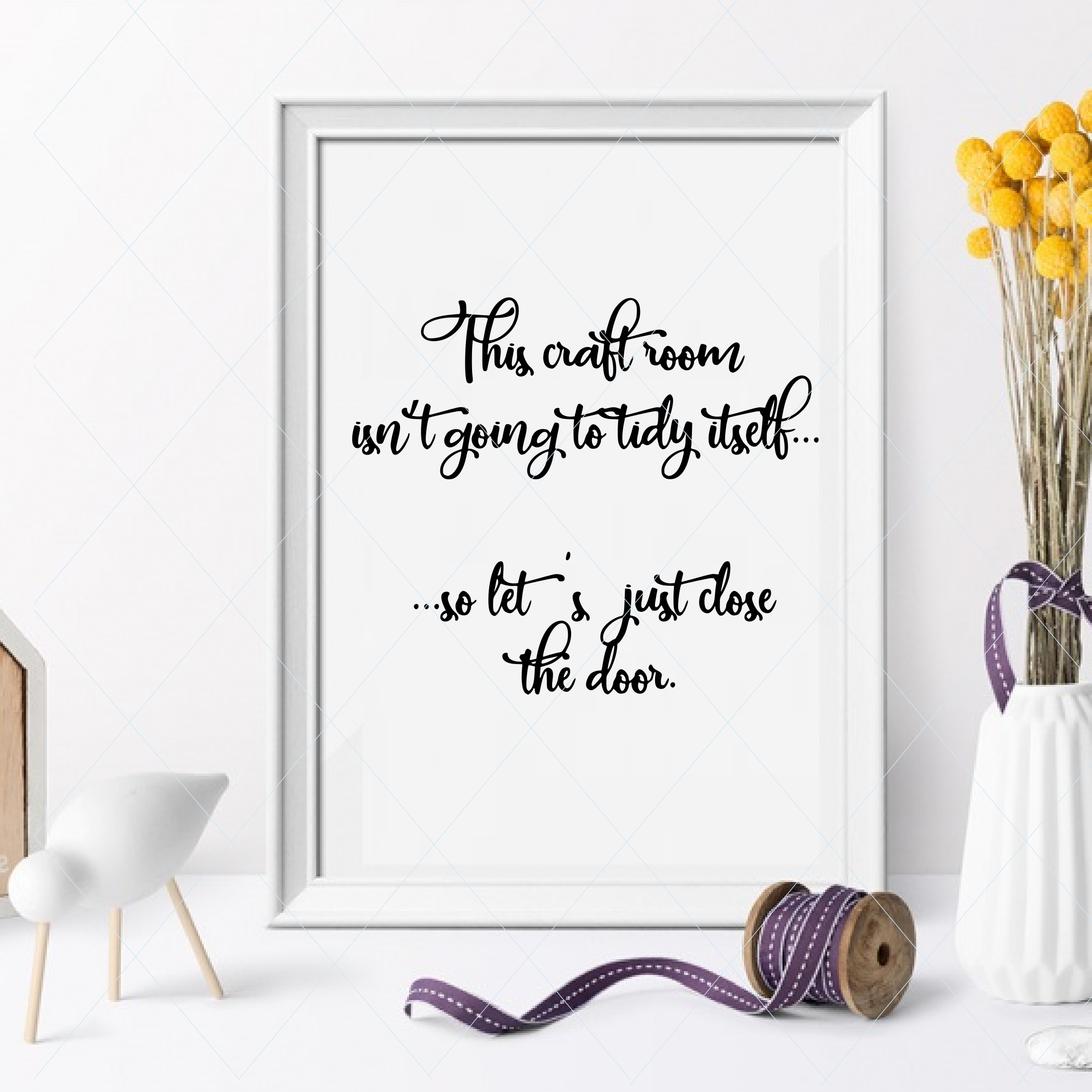 Crafting Svg Hobby Quote Text Sewing Room Craft Room Funny Home