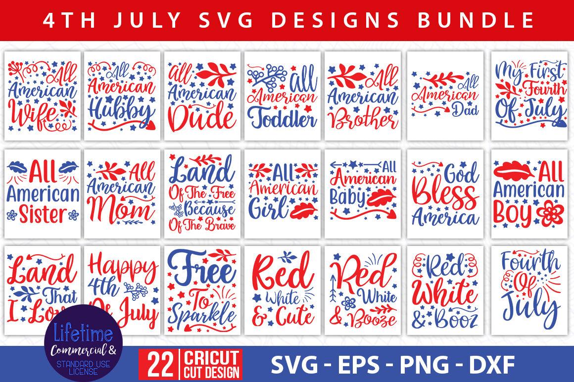 4th Of July Svg Bundle Vol 03 By Teewinkle Thehungryjpeg Com