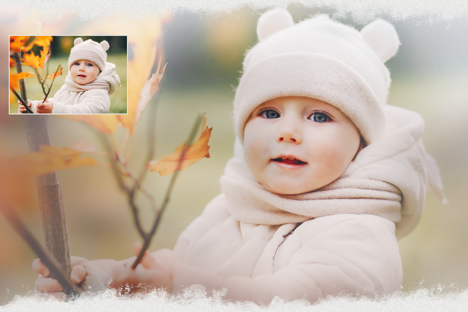 Pastel Spring Painted Photoshop Overlays For Photographers By