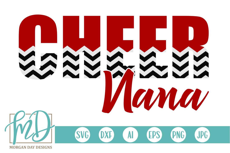 Cheer Nana Svg By Morgan Day Designs Thehungryjpeg Com