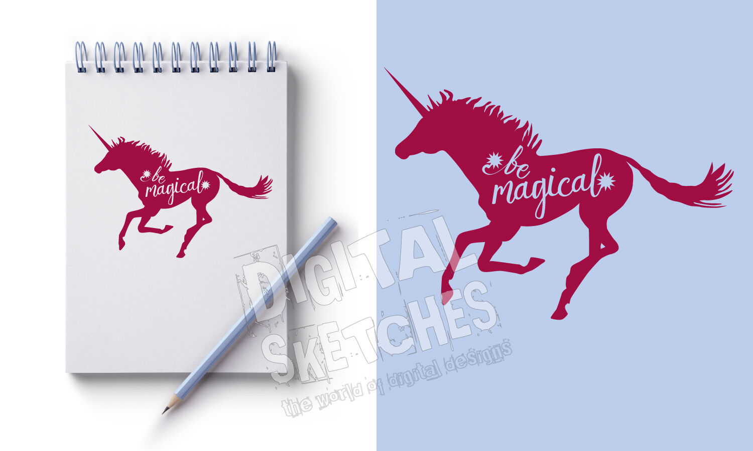 Unicorn Vector Graphic Saying Svg Unicorn Cut File Svg Dxf By