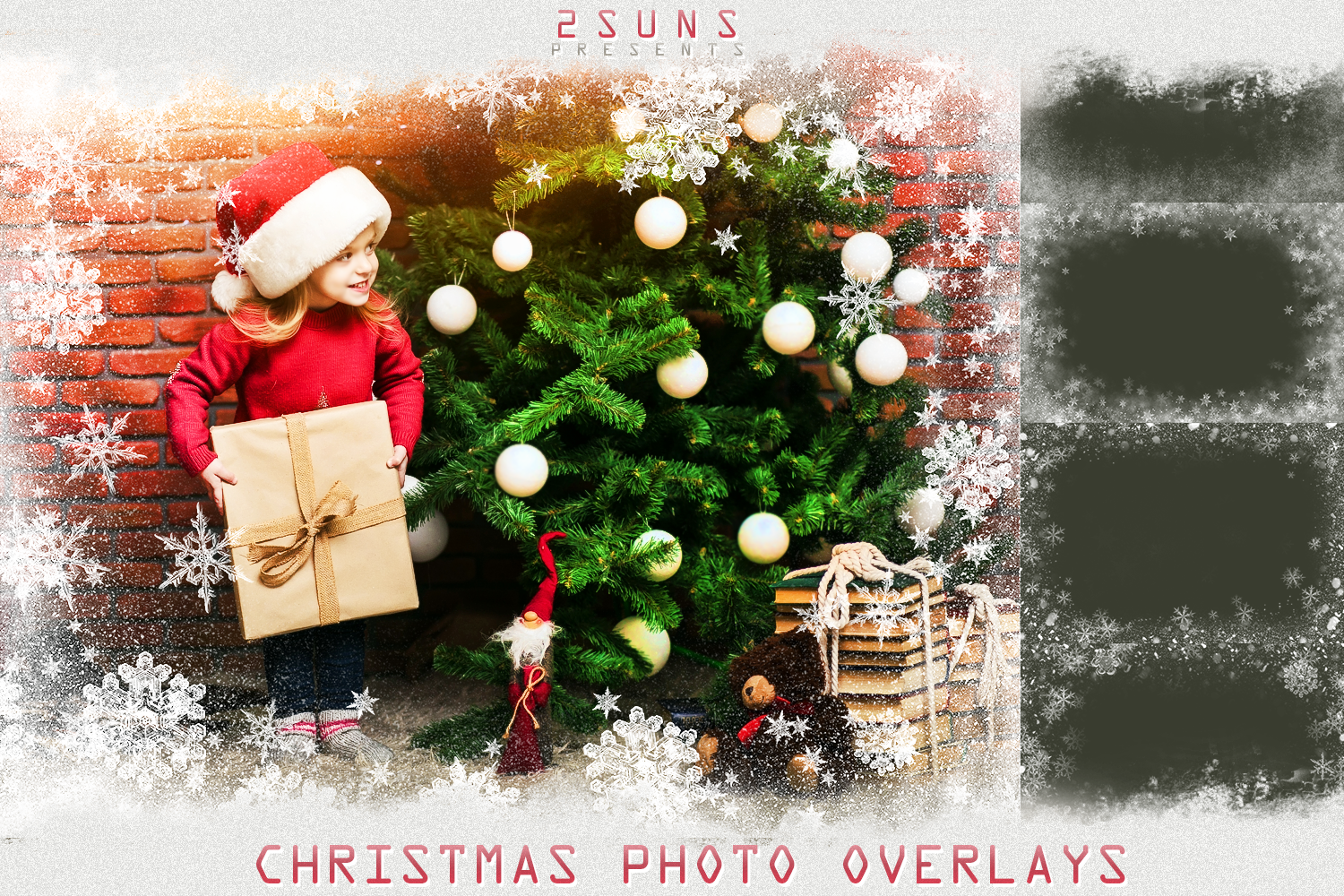 Download Photo Overlays Textures Christmas Snowflakes Frames By