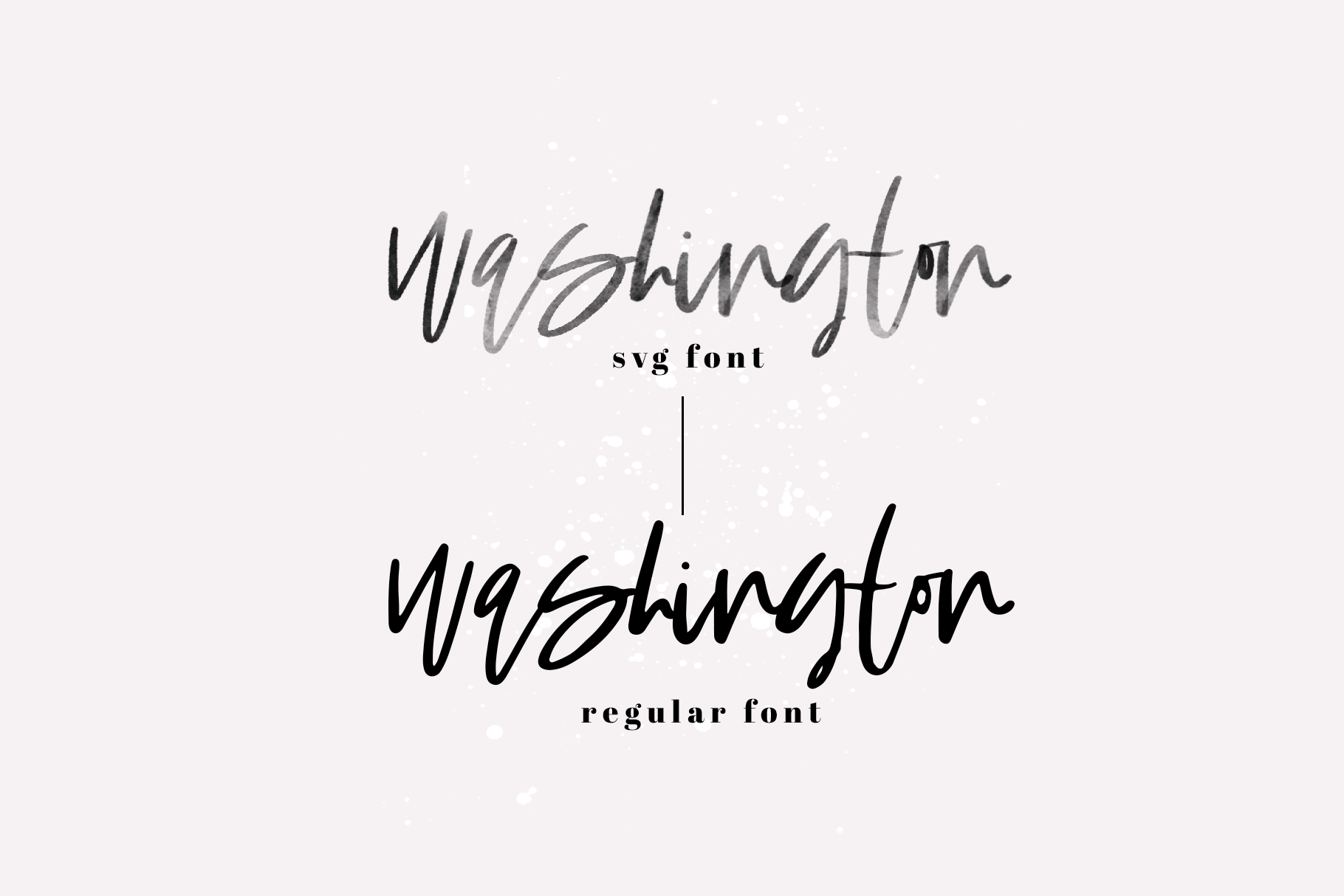 Washington A Handwritten Script Font Svg Solid By Ka Designs