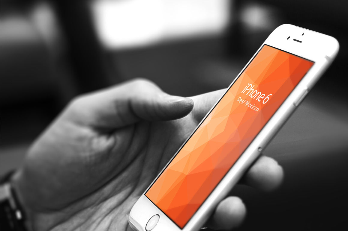 Iphone 4 Mockup Psd