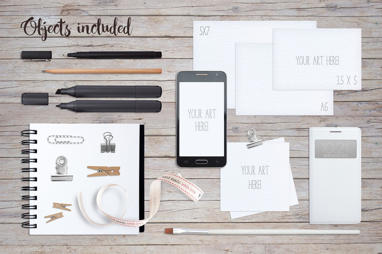Download A6 Psd Mockup Yellowimages