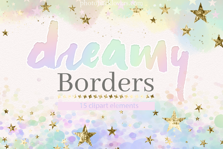 Dreamy Pastel Borders By Photohacklovers Thehungryjpeg Com