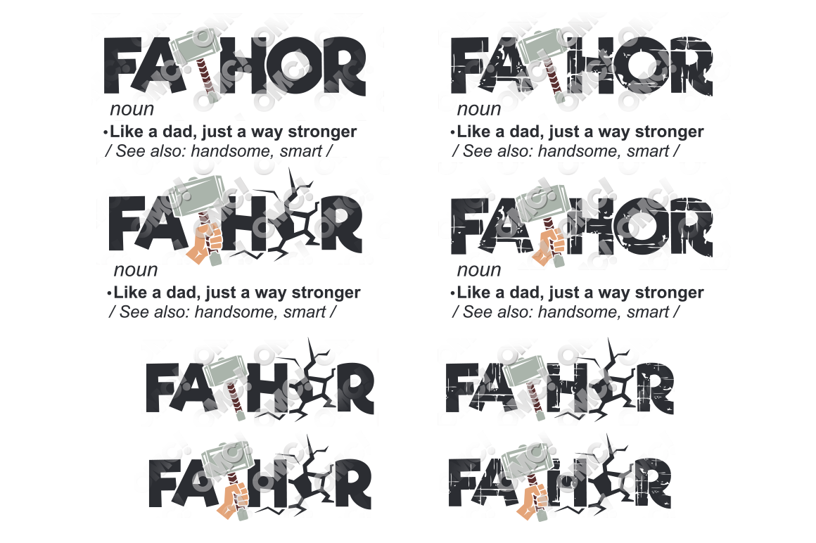 Fathor Svg Fa Thor In Svg Dxf Png Jpg Eps By Ohmycuttables