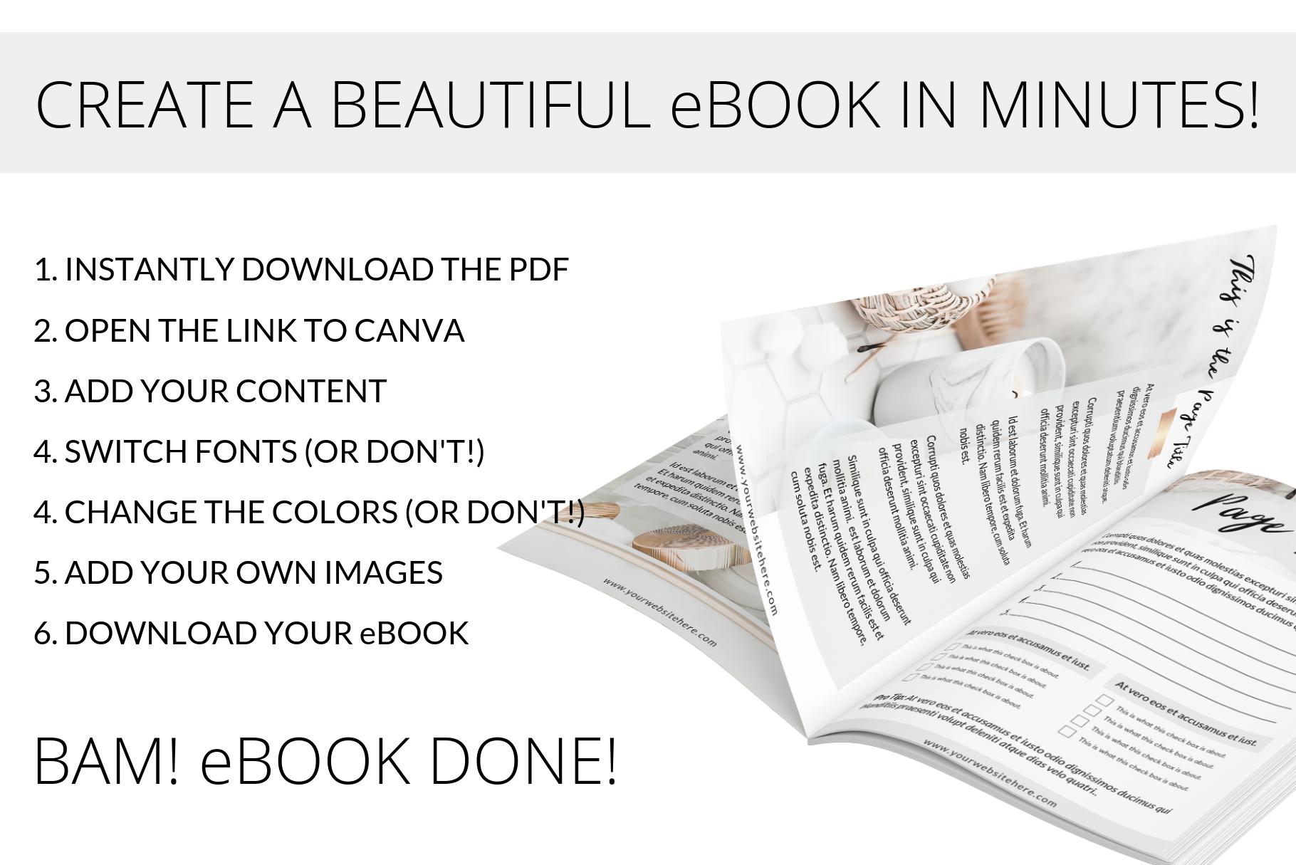 Indesign Nurtured Life Ebook Templates By Lady Boss Studio