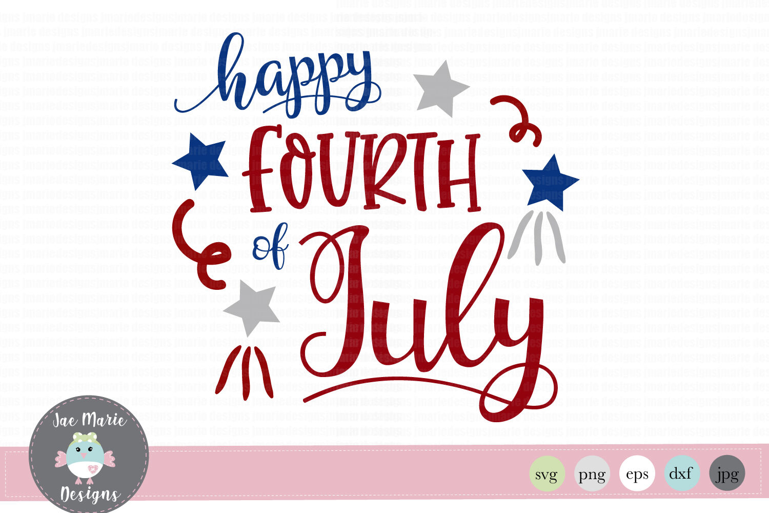 4th Of July Svg Happy Fourth Of July Svg Happy 4th Of July Svg