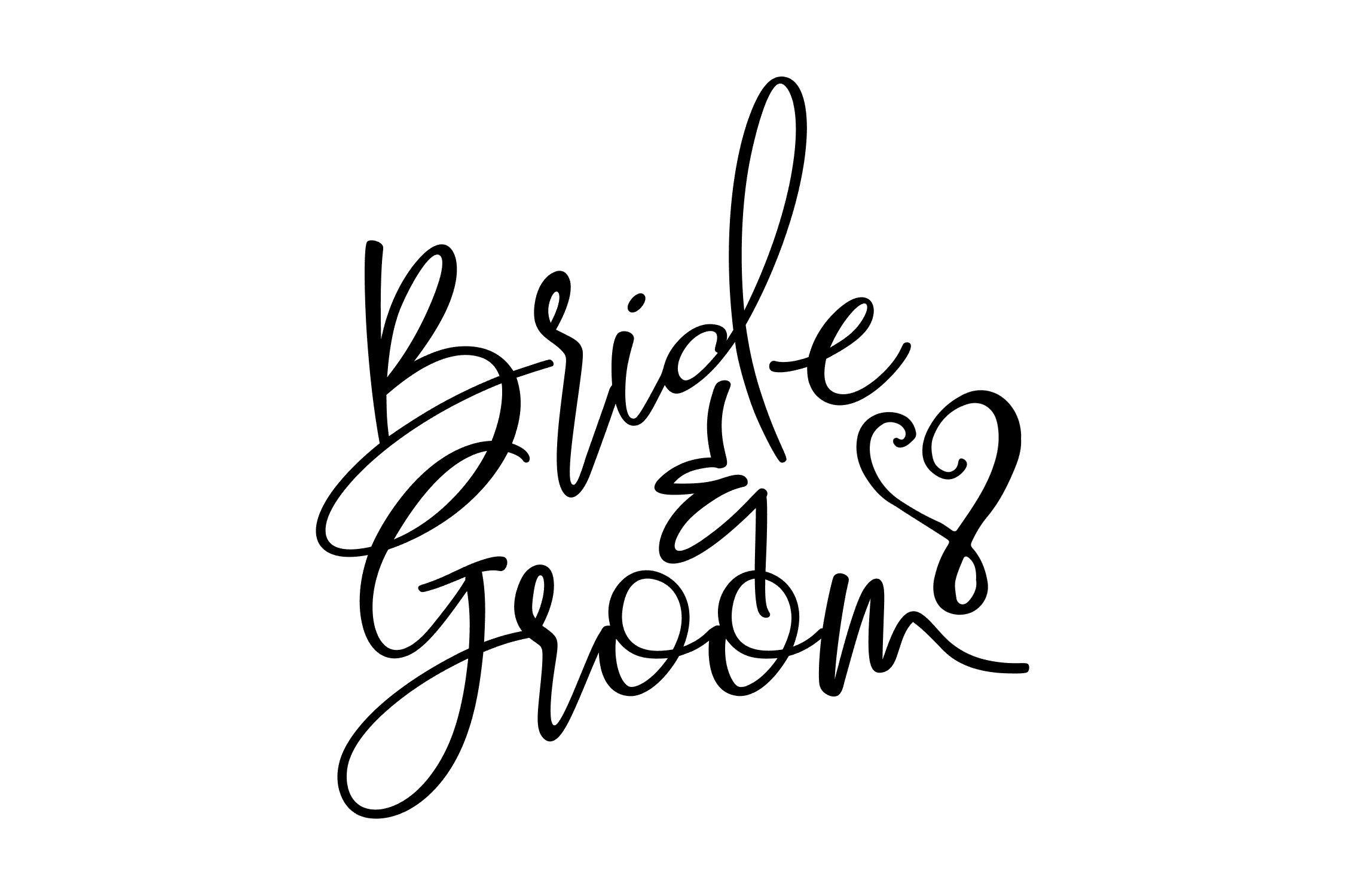 Bride Groom Svg Png Eps By Studio 26 Design Co Thehungryjpeg Com