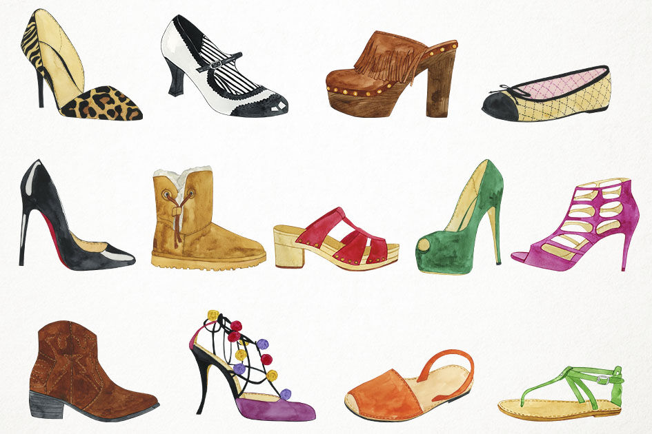 Footwear and accessories to go to a restaurant for women