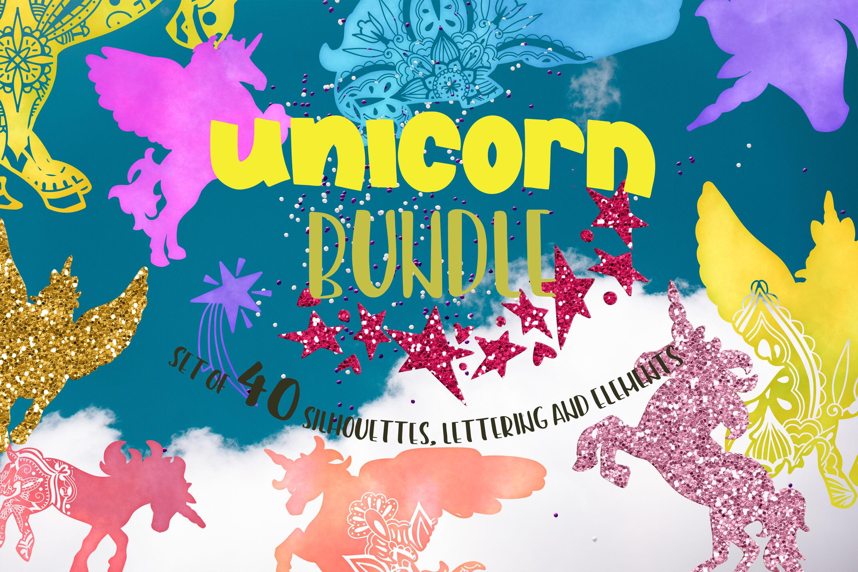 Unicorn Bundle Svg Mandala Svg Lettering Quotes Svg By Svg Story