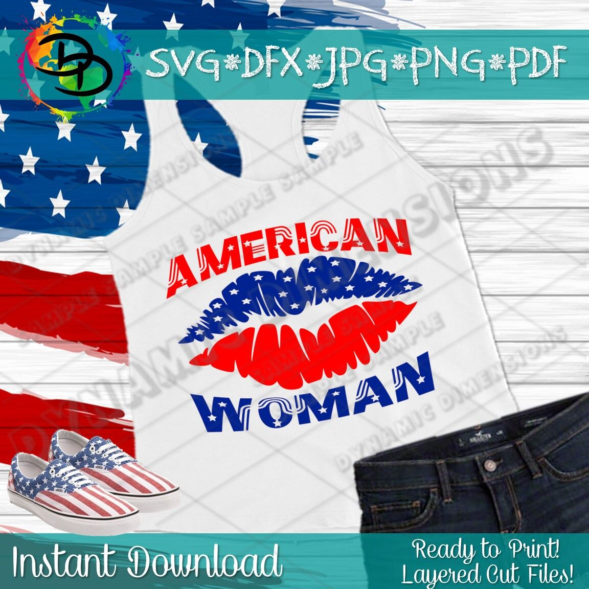c0900ee132 American Woman svg, Patriotic Lips Svg, 4th of July Svg, American ...