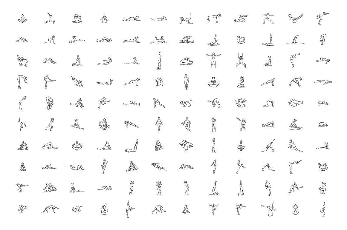 Yoga Poses Graphic