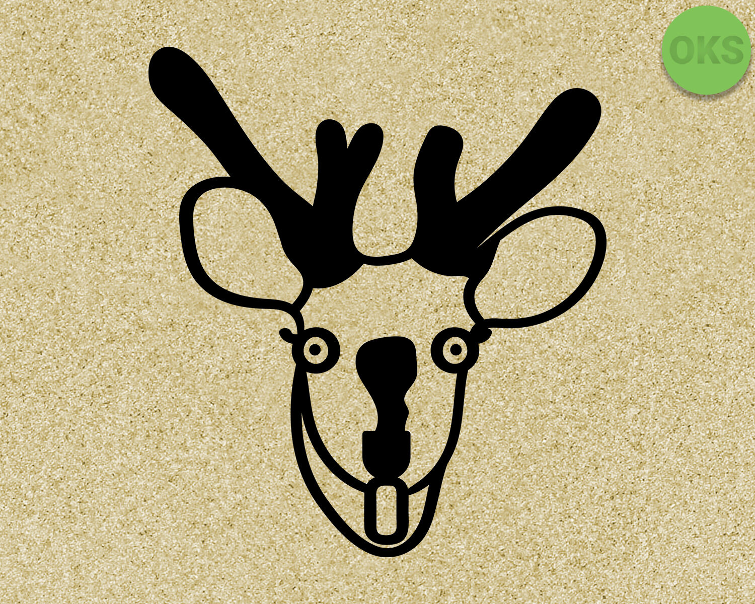 Deer Caught In The Headlights Svg Dxf Vector Eps Clipart