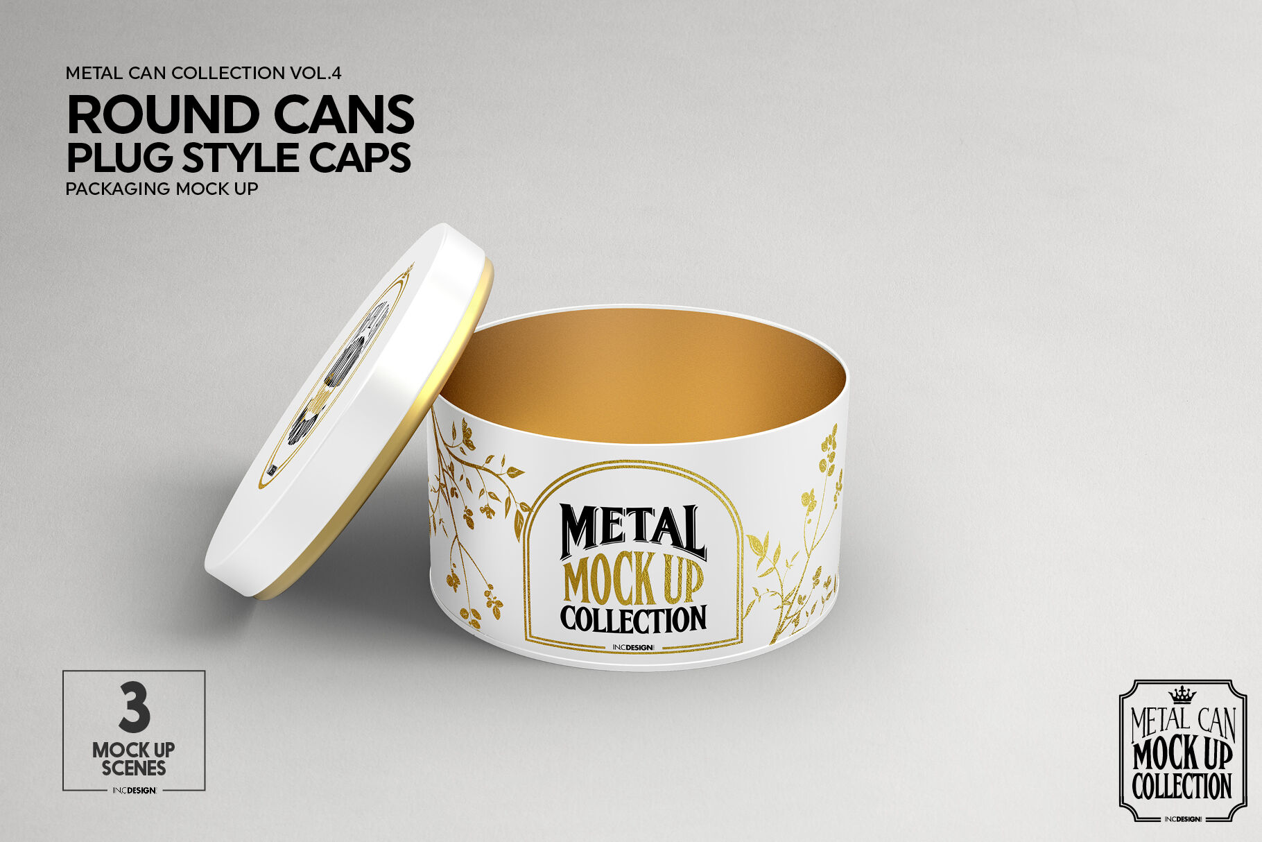 Download Ceramic Bottle With Metal Cap Mockup Yellowimages