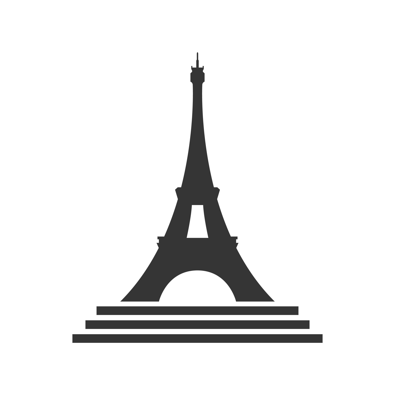 Eiffel Tower Icon By Marco Livolsi Thehungryjpeg Com