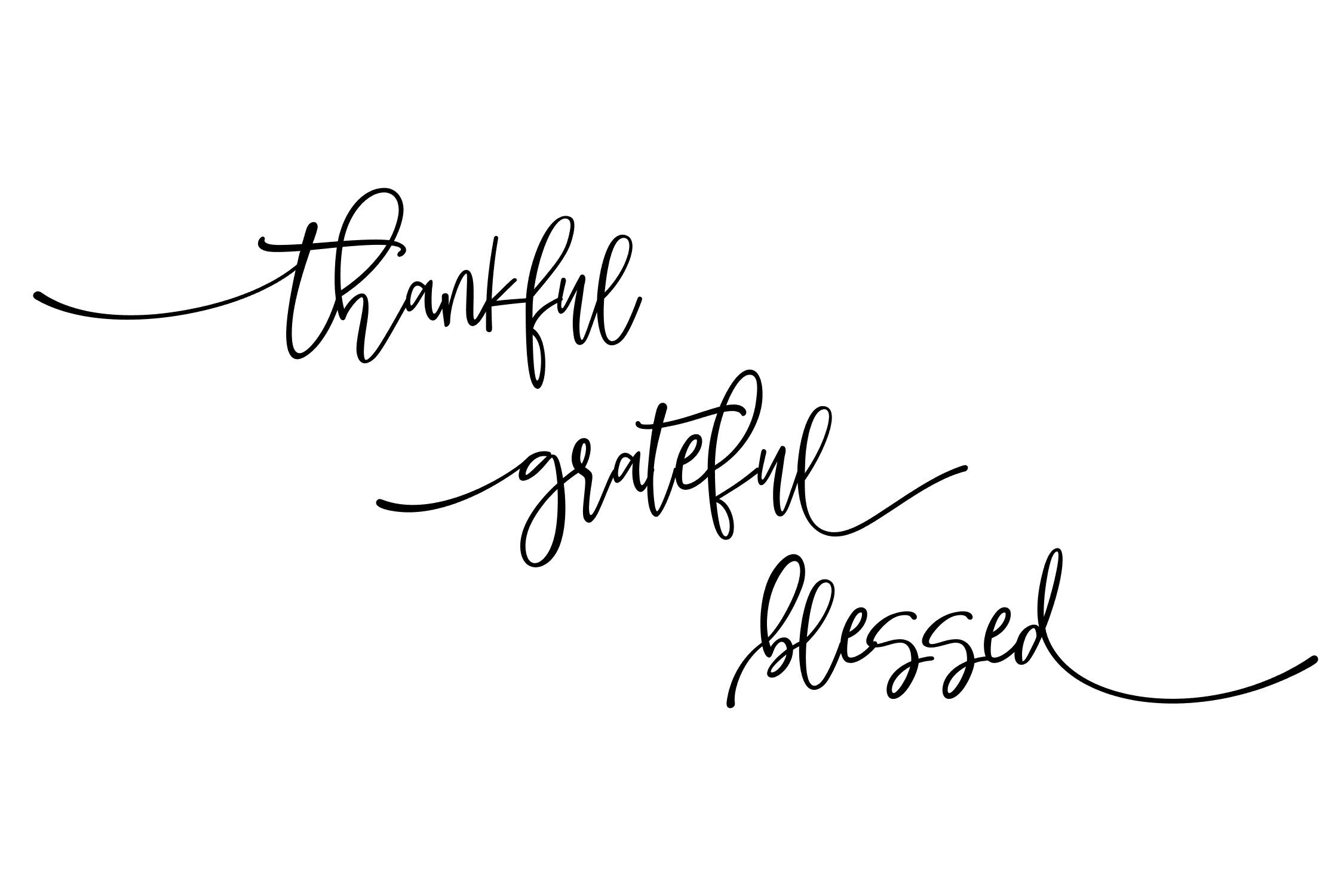 Thankful Grateful Blessed Svg Png Eps By Studio 26 Design Co Thehungryjpeg Com