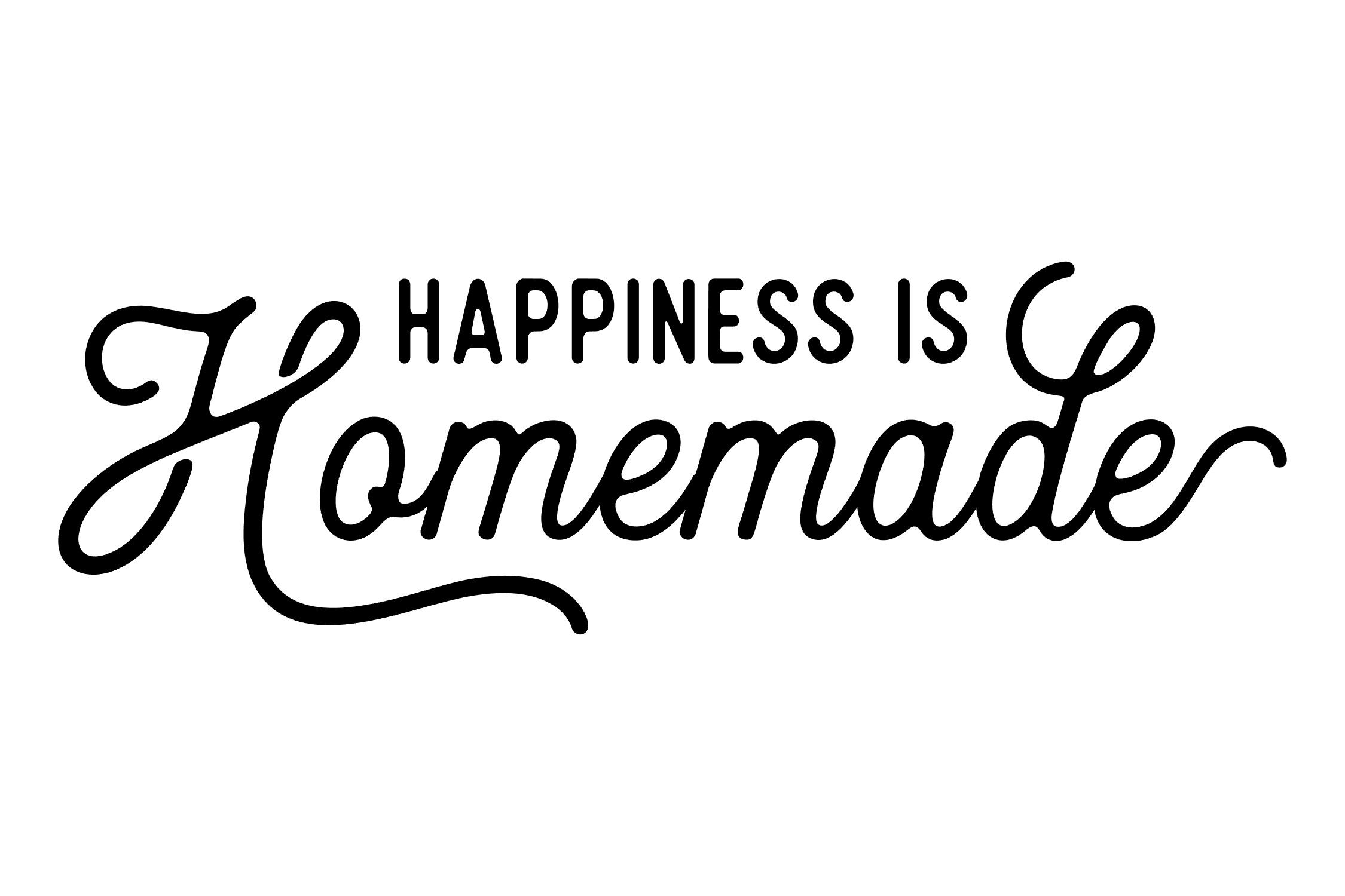 Happiness Is Homemade Svg Png Eps By Studio 26 Design Co