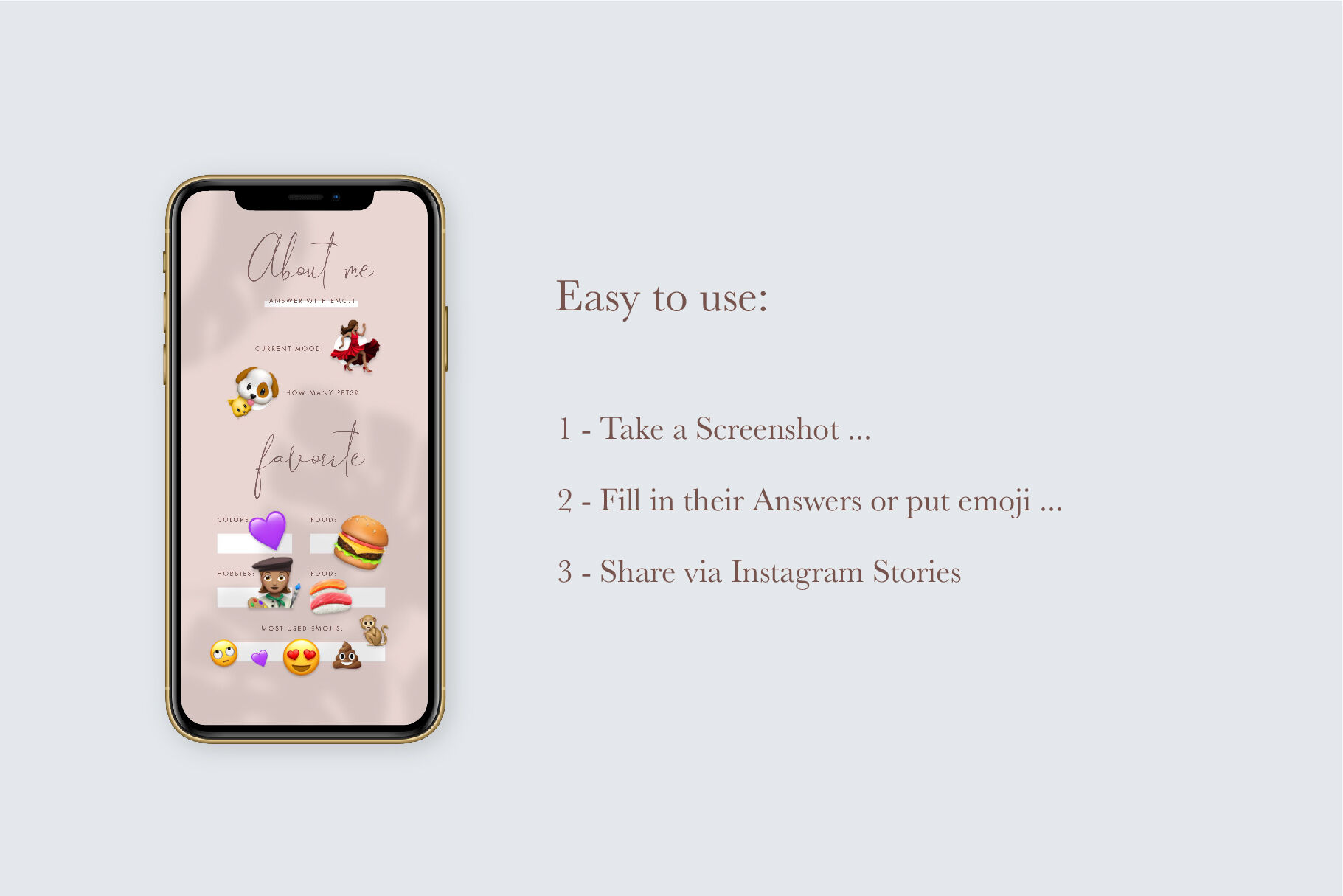 Q A Instagram Stories Game Templates Stories Modern Social Media