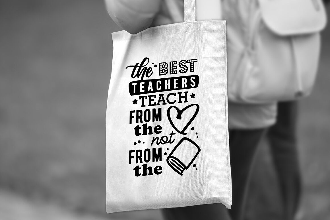The Best Teachers Quote For Teachers By Craftartshop