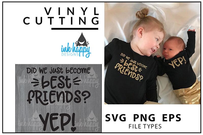 Yep Newborn Svg Design By Ink Happy Designs Thehungryjpeg Com