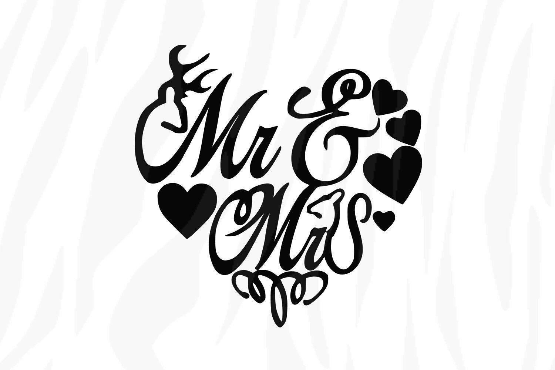 Get Mr And Mrs Svg File SVG