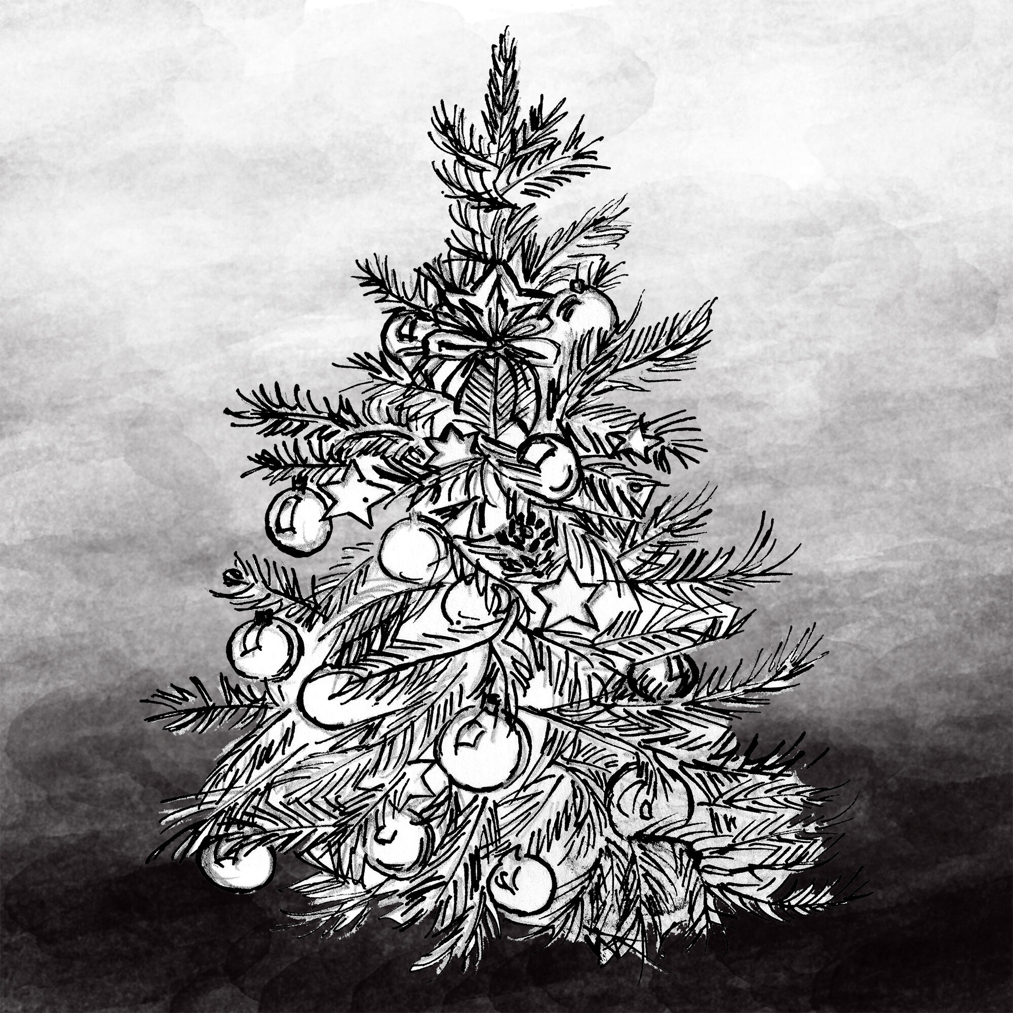Christmas Tree Clipart By Girl In Design Thehungryjpeg Com
