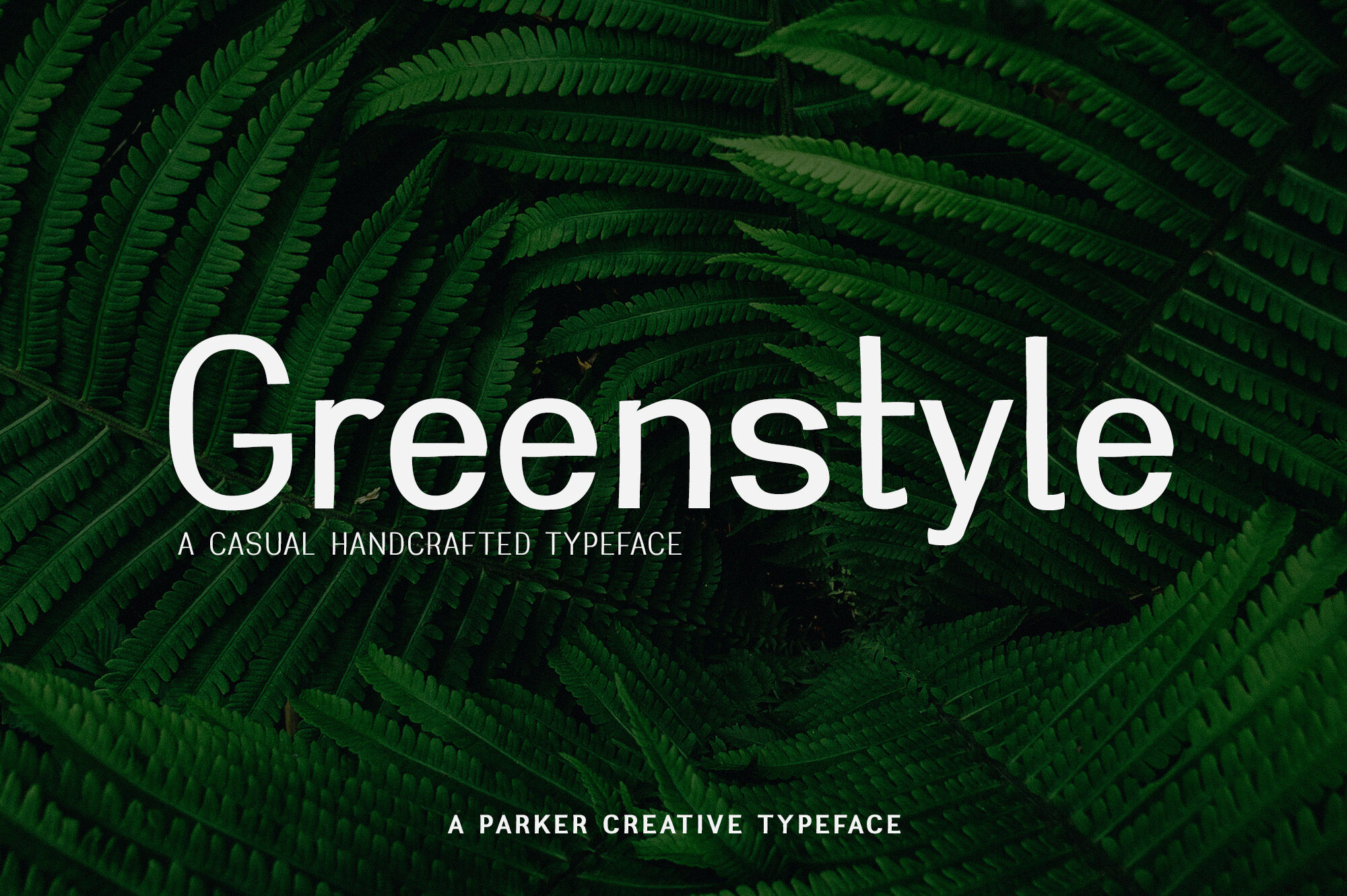 Greenstyle Casual Humanist Font By Parker Creative Thehungryjpeg Com
