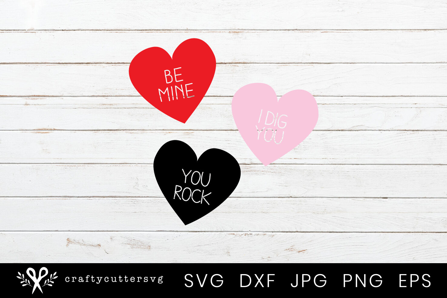 Be Mine I Dig You You Rock Valentine S Day Love Hearts Svg By