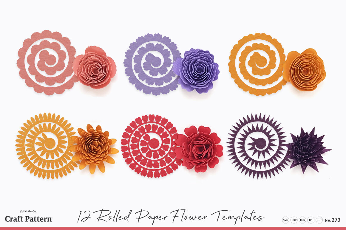 Free 3d Flower Templates Svg - Flowers Healthy
