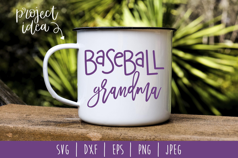 Baseball Grandma Svg Dxf Eps Png Jpeg By Savoringsurprises
