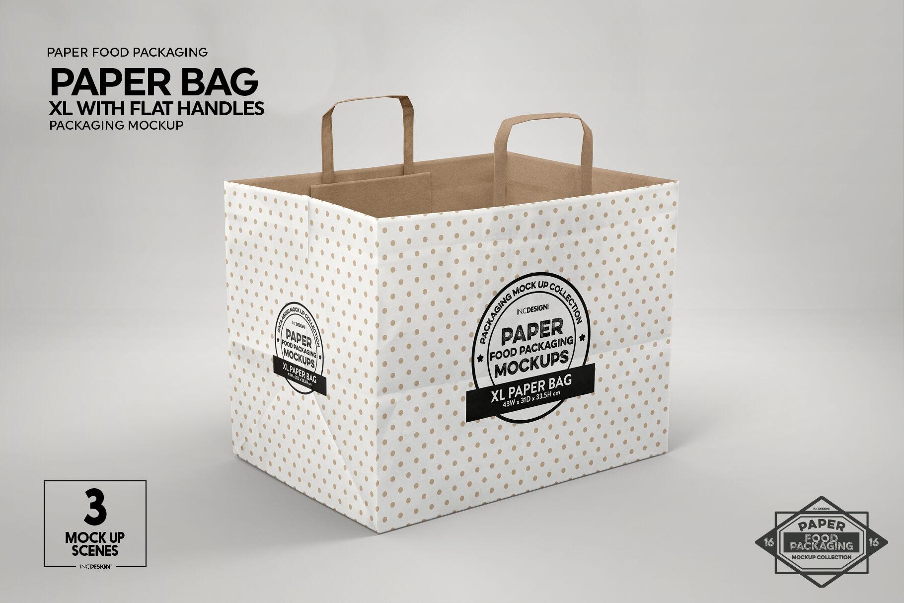 Download Diaper Paper Bag Mockup Yellowimages